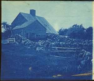Hovey house Ipswich cyanotype by Arthur Wesley Dow