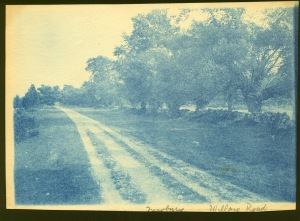 Argilla Road cyanotype by Arthur Wesley Dow