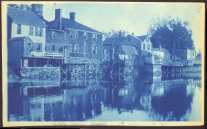 Little Venice Ipswich cyanotype by Arthur Wesley Dow