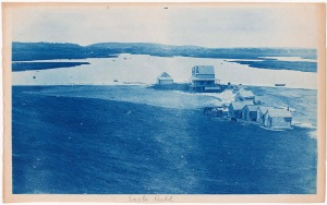 Eagle Hill cyanotype by Arthur Wesley Dow