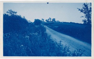 "Argilla Road Ipswich ""Hogtown"" cyanotype by Arthur Wesley Dow"