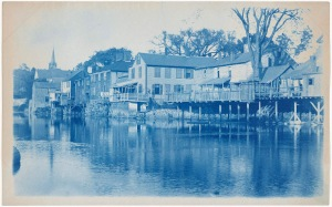 "Ipswich River ""Little Venice"" cyanotype by Arthur Wesley Dow"