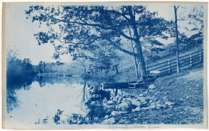 Ipswich Upper River cyanotype by Arthur Wesley Dow