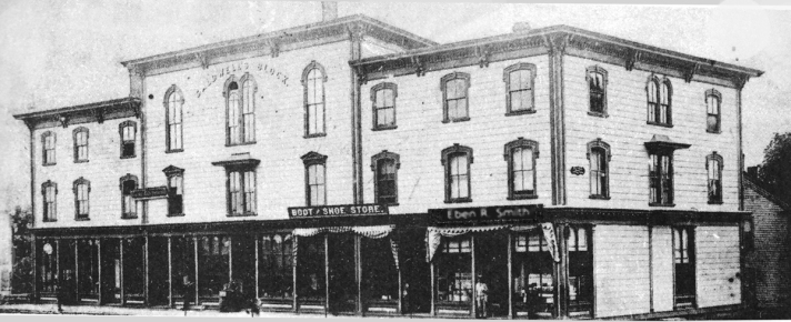 Before the Atlas Restaurant it was Eben Smith's drug store