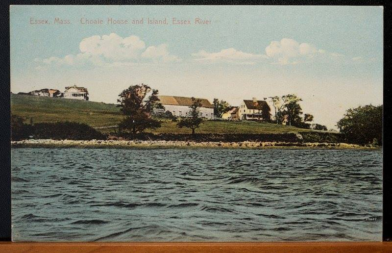 View of the Choate House from Castle Neck