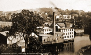 County Street bridge and factories, Ipswich MA