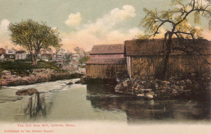 The old sawmill on County St.