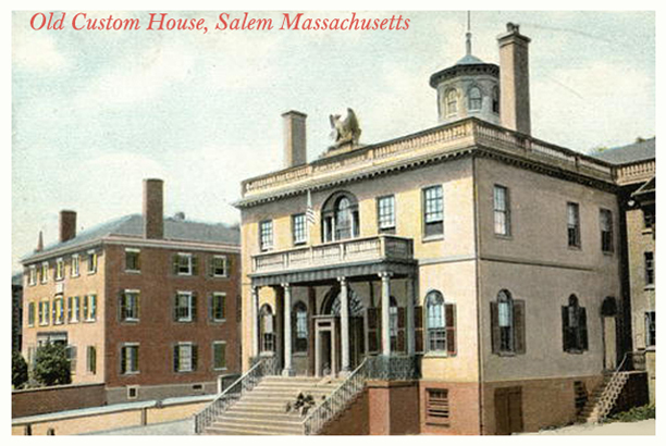 Old Custom House Salem Ma Historic Ipswich