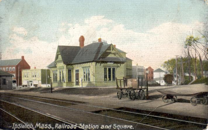 View of the old Depot from Topsfield Road