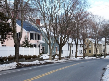 East Street in Historic Ipswich MA