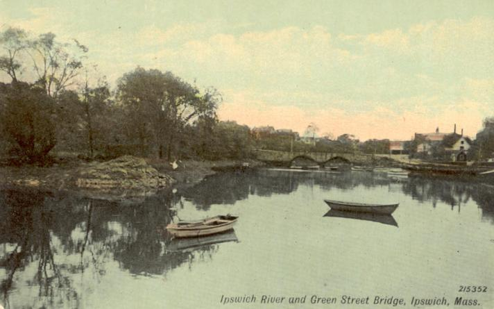 Ipswich River at Green St.