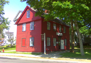 The Hall Haskell House was slated for destruction by the Town of Ipswich until a group of citizens stepped in and saved it. The building now serves as the Ipswich Visitor Center.