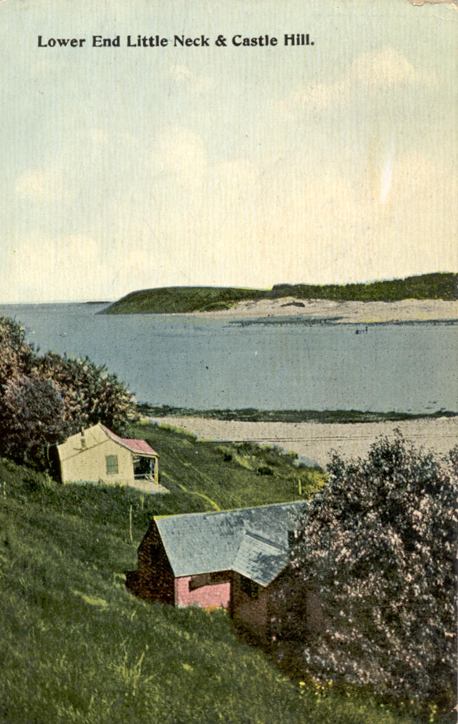 Cottages on Little Neck