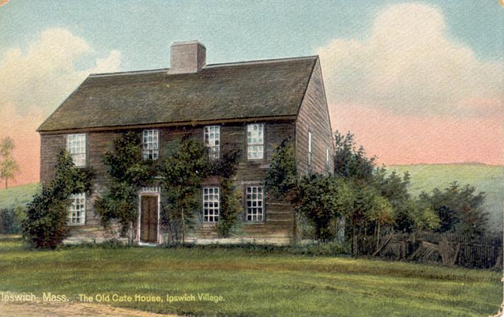 Old Cate house, High St.