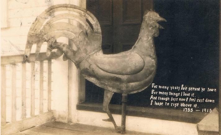 The Rooster, First Church