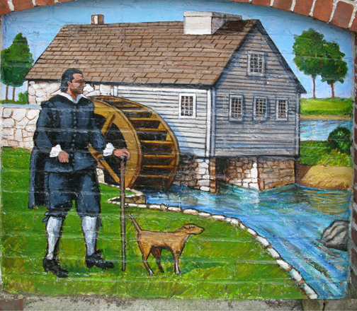 Richard Saltonstall built the town's first mill on the Ipswich River