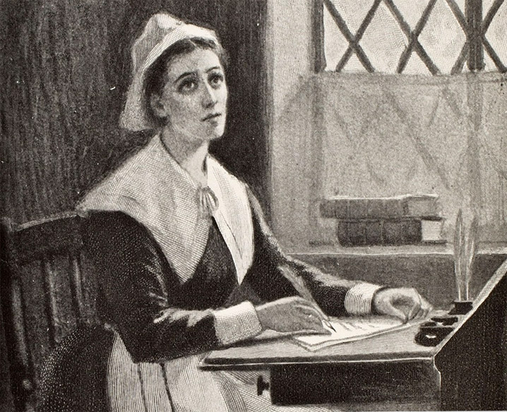 anne bradstret A dialogue between old england and new a letter to her husband a love  letter to her husband another another (ii) the author to her book before the  birth.
