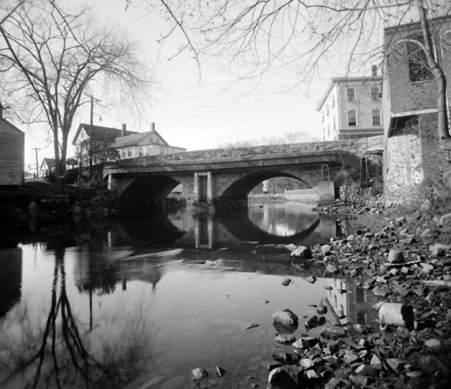 Choate Bridge in 1940