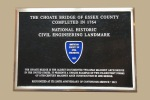 Plaque awarded by the American Society of Civil Engineers