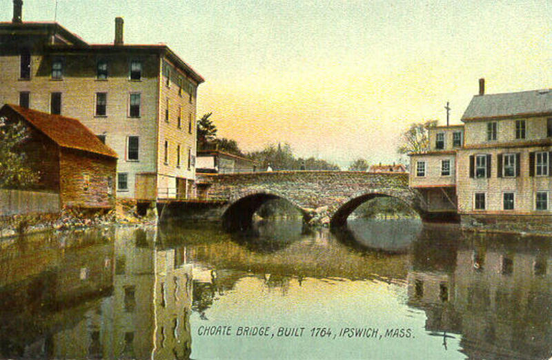 The Choate Bridge in Ipswich