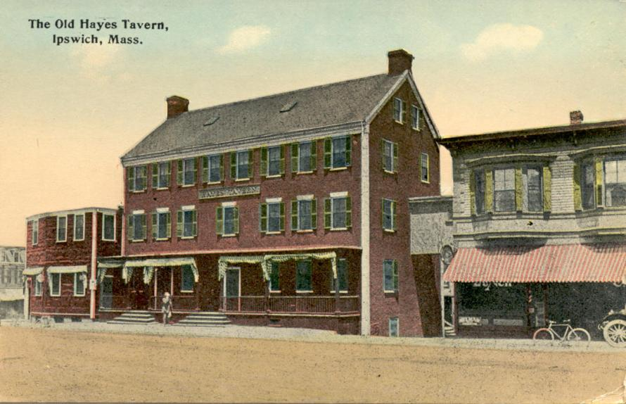 The Hayes Hotel at Depot Square was built as a hosiery factory for the Peatfield brothers. It became a lodgking for homeless veterans, and burned in the 20th Century with loss of life.