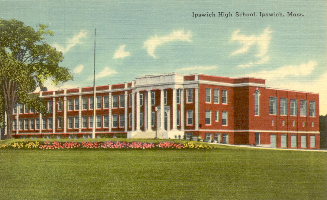 Ipswich High School which is now the Town Hall