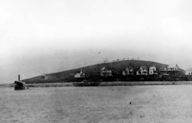There were no houses on Little Neck in 1890, photo courtesy of Bill George.