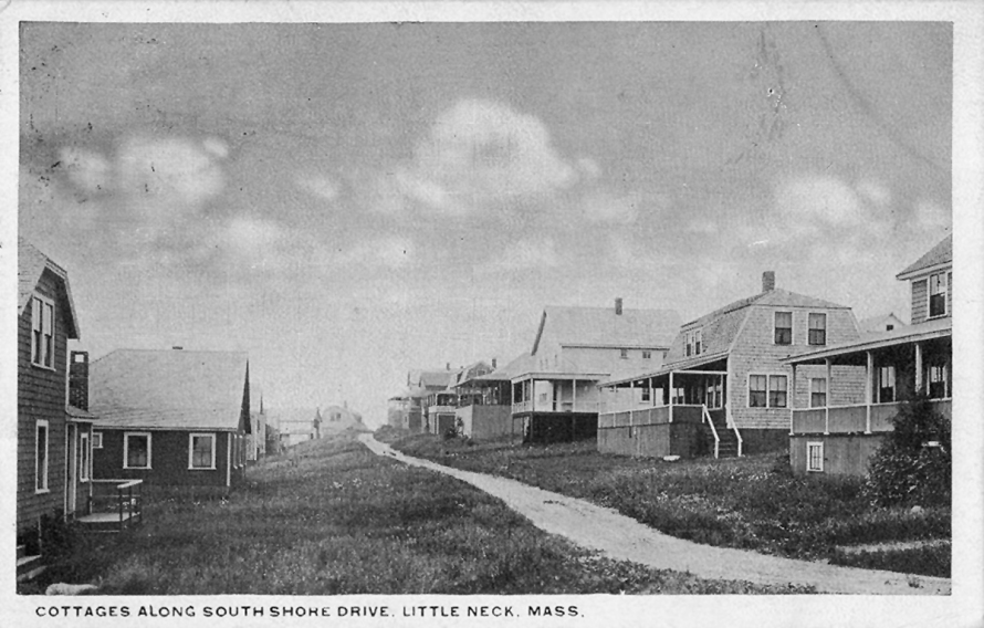 Little Neck, early cottages