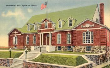 Memorial Hall, Central St., Ipswich MA