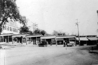Around the turn of the 20th Century the Ipswich Post Office was located in the Jones Block, a row of small buildings that wrapped up the hill from the Choate Bridge to the Ipswich Female Seminary (now the location of the Christian Science Church)