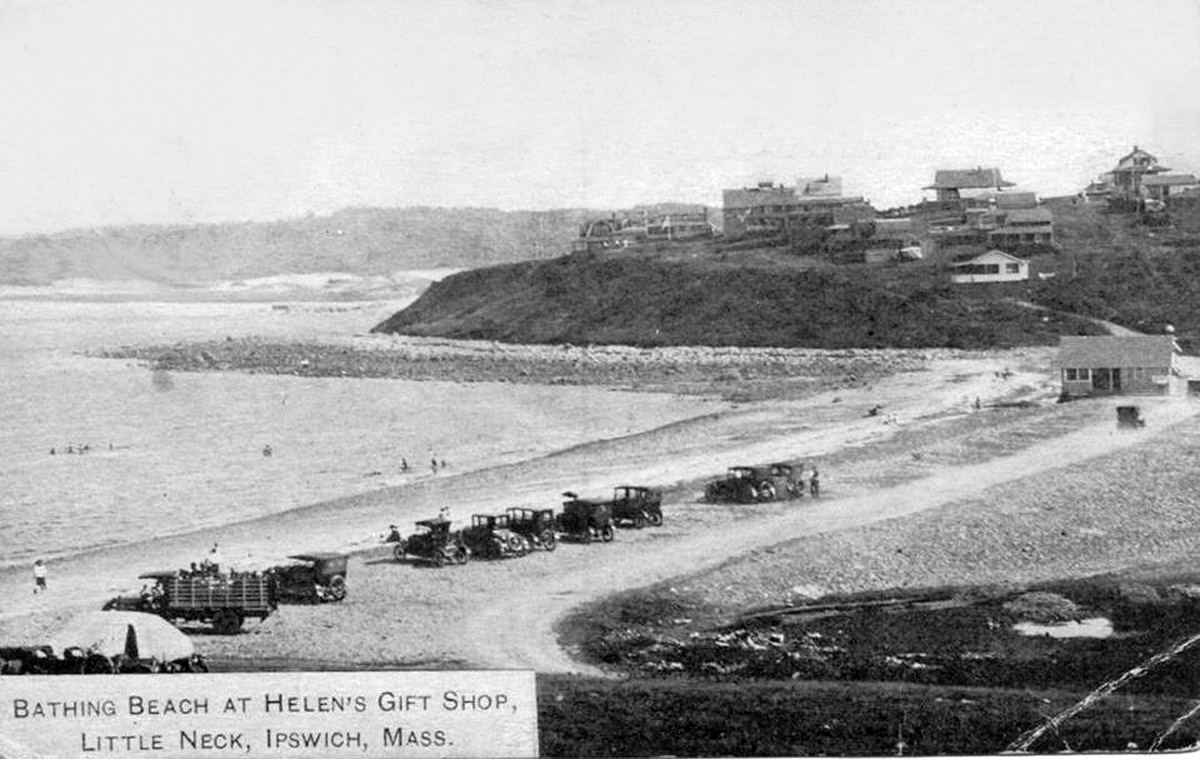 Little Neck and Pavilion Beach in the early 20th Century