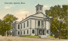 Old Town hall, Ipswich MA