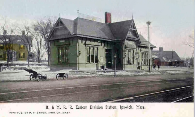 The Ipswich Depot was built on the site of the Eastern International house.