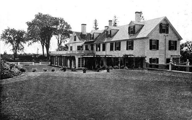 The Barnard Estate greatly expanded the old Potter farmhouse