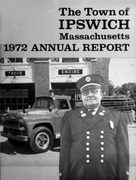 Front cover of the 1972 Ipswich Town Report