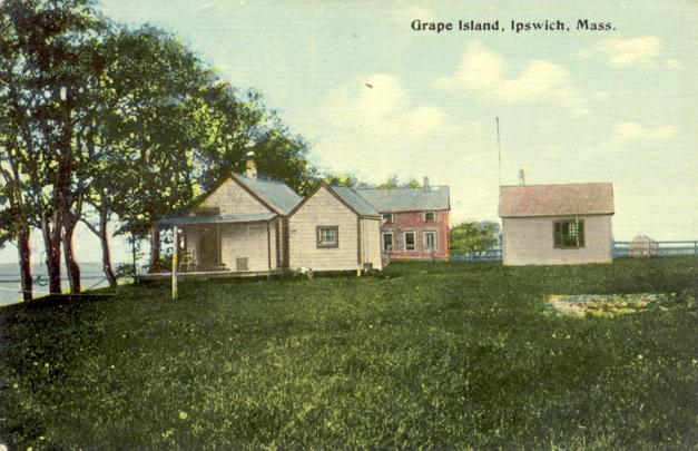 Cottages on Grape Island