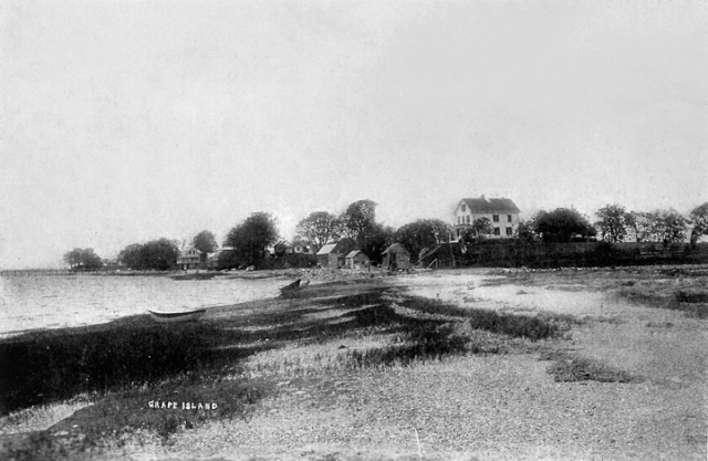 Grape Island at the beginning of the 20th Century