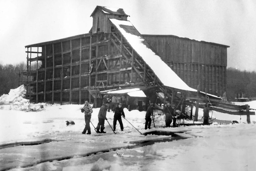 The Lathrop Brothers Ice House