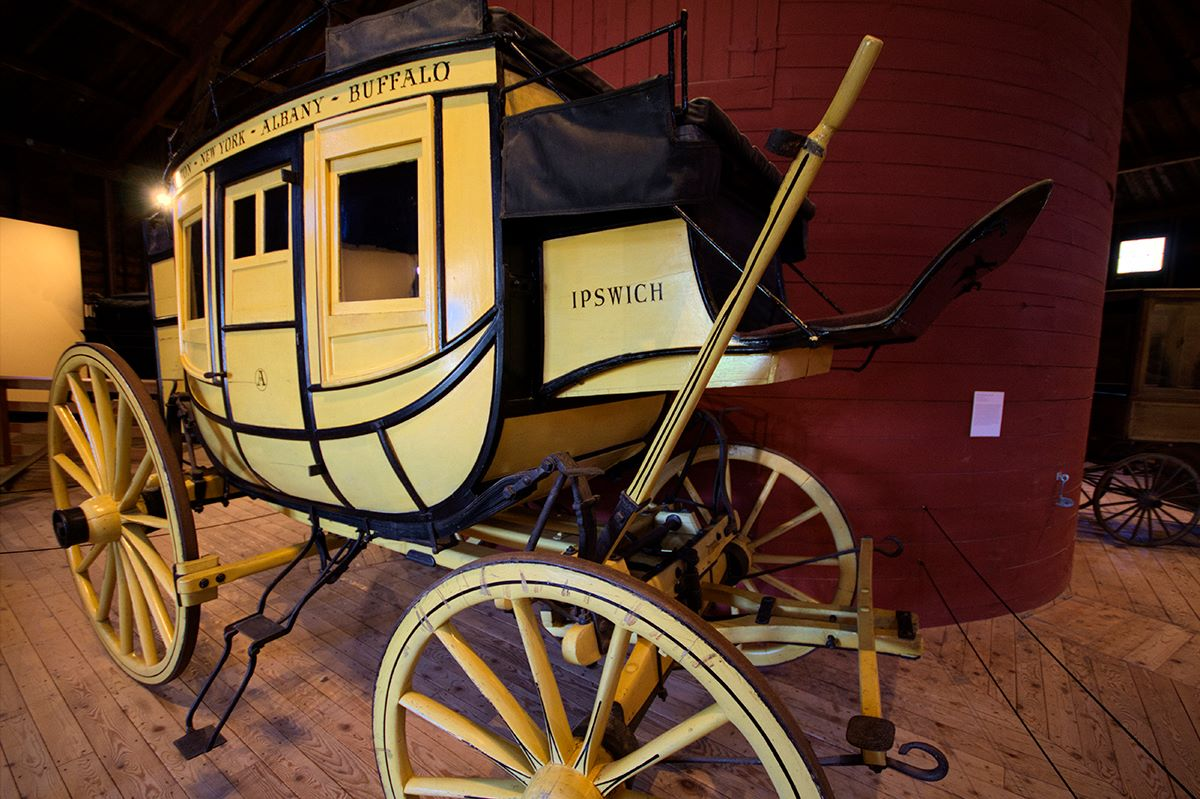 The Ipswich Stagecoach