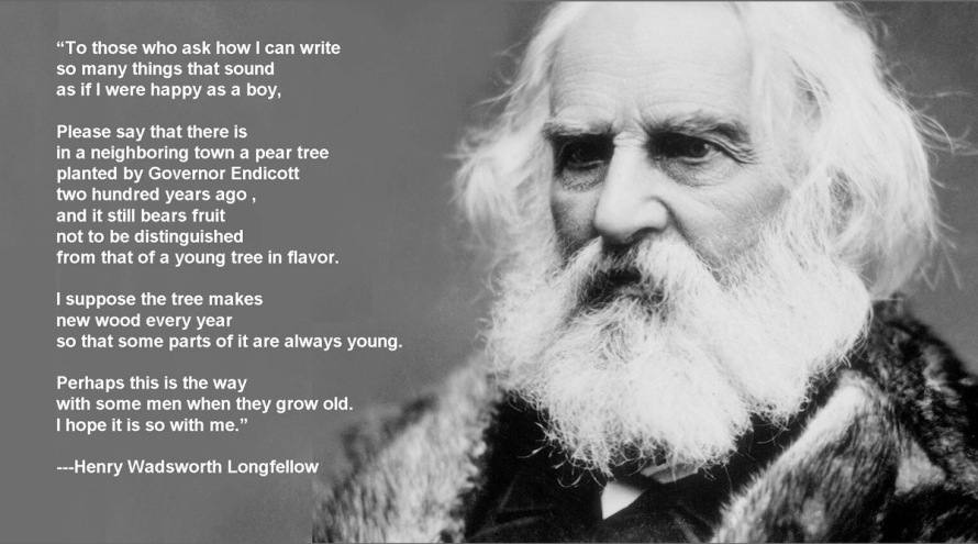 Longfellow and the Endicott pear
