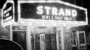 Ipswich MA Strand Theater in 1941