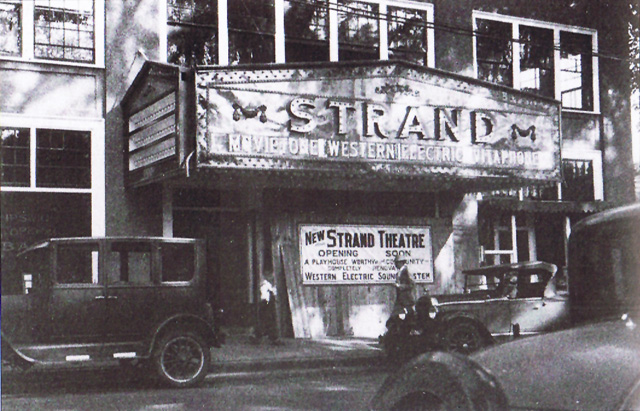 The Strand theater re-opens, September 11, 1930 after a fire damaged the auditorium three months earlier.