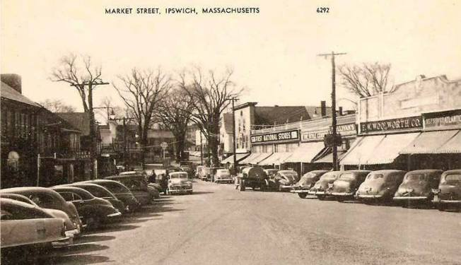 The A&P ( officially The Atlantic and Pacific Tea Company) is in the far right of this old photo of Market Street