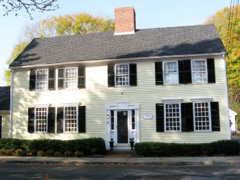 The Col. John Baker house is on the South Green.