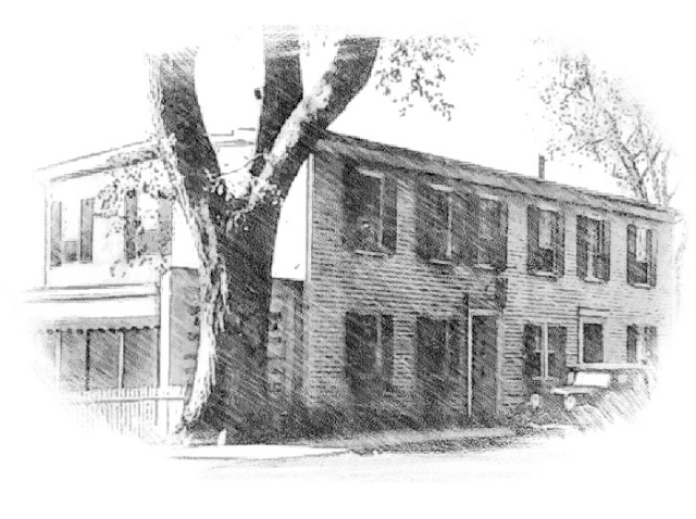 The Ipswich Mills Tearoom on South Main Street, across from the Visitor Center