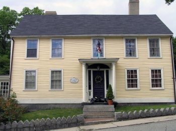 """The """"Christian Wainwright"""" house on North Main Street was the first Treadwell's Inn."""