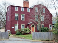 The Nathaniel Wade house on County Road was built by his father Thomas Wade