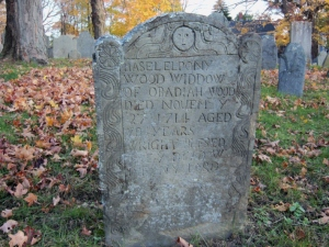 Haselelponiah Wood, buried in the Old North Burying ground in Ipswich