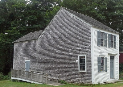 No drawing is available of the first Ipswich jail, but by its description it may have been similar to the Old Barnstable Jail, built in 1690.