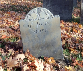 Captain John Smith footstone